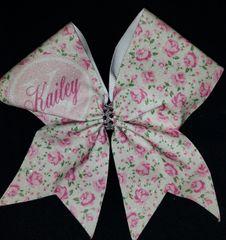 Shabby Chic Kailey Cheer Bow