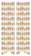 Ice Cream Ready to Press Sublimation Graphic