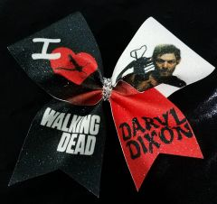 Walking Dead Daryl Dixon Cheer Bow