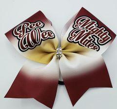 Pee Wee Mighty Mites Ribbon Cheer Bow