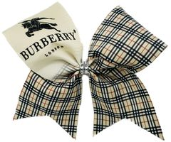Burberry Inspired Cheer Bow