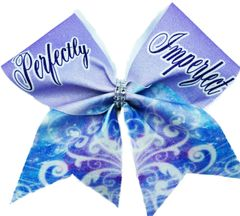 Perfectly Imperfect Cheer Bow