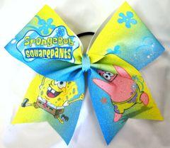 Spongebob Cheer Bow
