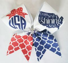 USA Cheer Bow