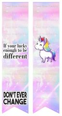 If your lucky enough to be different Unicorn Ready to Press Sublimation Graphic