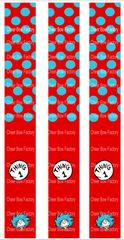 Thing 1 & Thing 2 Keychain Sublimation Cheer Bow Graphic