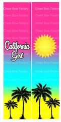 California Girl Ready to Press Sublimation Graphic