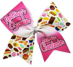 Nothing's Sweeter than this Cheerleader Cheer Bow