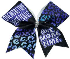 One More Time Never Equals One More Time Cheer Bow