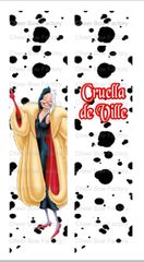 Cruella de Ville Cheer Bow Ready to Press Sublimation Graphic