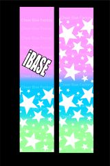 iBASE Cheer Bow Ready to Press Sublimation Graphic