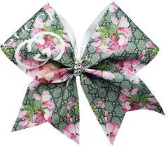 Gucci Bloom Glitter Vinyl Cheer Bow
