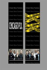Chicago PD Cheer Bow Ready to Press Sublimation Graphic
