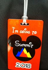 Summit Custom Personalized Bag Tag