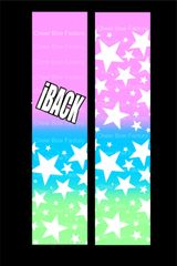 iBACK Cheer Bow Ready to Press Sublimation Graphic