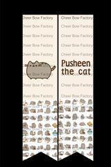 Pusheen The Cat Cheer Bow Ready to Press Sublimation Graphic
