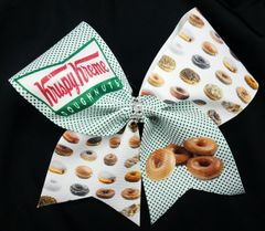 Krispy Kreme Cheer Bow