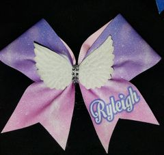 Angel Wings Ryleigh Cheer Bow
