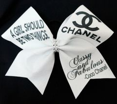 Coco Chanel Cheer Bow