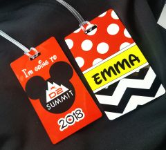 Summit D2 Custom Personalized Bag Tag