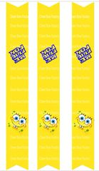 Spongebob Patrick Best Friends Forever Keychain Sublimation Cheer Bow Graphic
