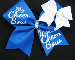 My Cheer Bow Wears A Cheer Bow