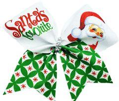 Santa's Favorite Cheer Bow