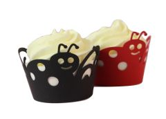 Lady Bug Cupcake Wrappers