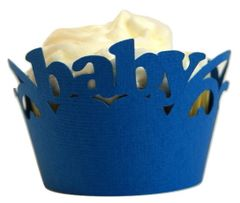 Blue Marine Baby Cupcake Wrappers