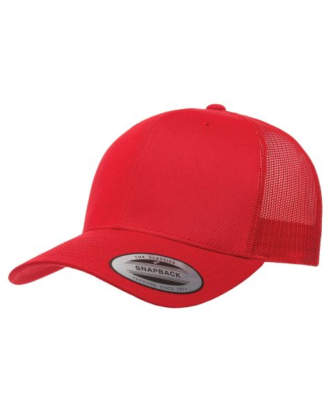 Red/Red Trucker Logo