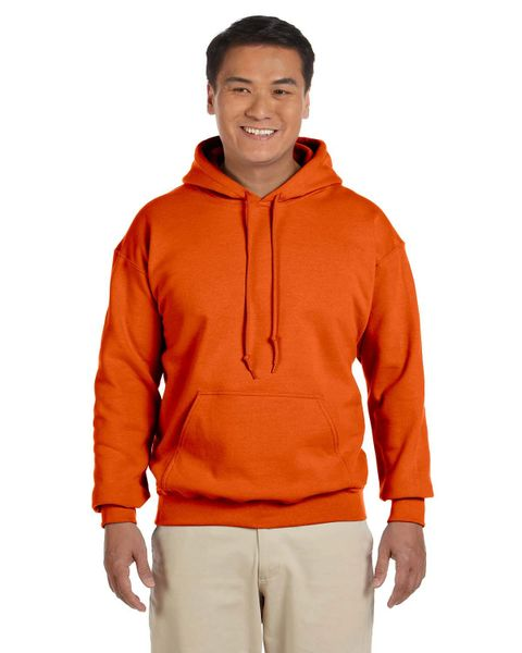 Orange Operator Error Apparel Hoodie