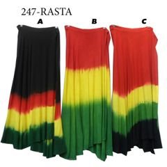 WRAP SKIRT RASTA