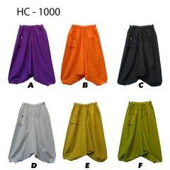 HAREM PANTS SOLID COLOR