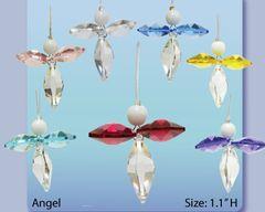 Angel Crystal Charm Ornament w/Swarovski Element Crystal