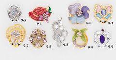 Elegant Brooch Assortment - Only $35.95 per 6 pcs