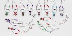 Cloissone Bead Necklace Assortment - Only $14.95 per dozen