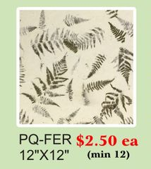 "12"" x 12"" Premium Quality (PQ) Handmade Real Flower Paper - Only $2.5 each (Set of 12 = total $30)"