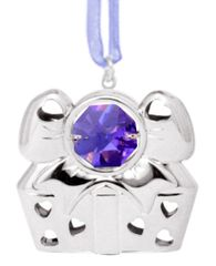Special Gift Ornament w/Swarovski Element Crystal