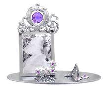 Carriage Mini Picture Frame w/Swarovski Element Crystal
