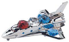 Space Shuttle Sun Catcher (Magnet) w/Swarovski Element Crystal