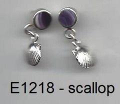 E1218 scallop charm