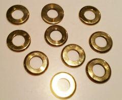 277 Brass Gauge Trim Washer