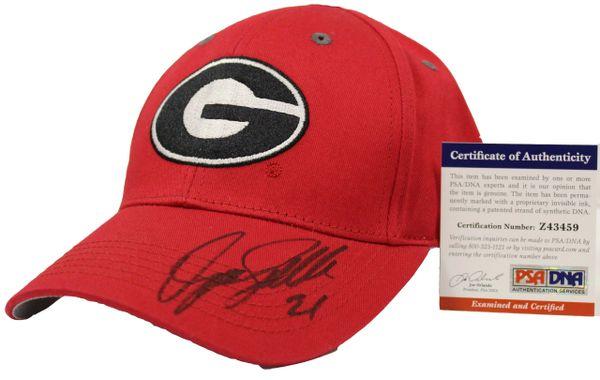 Dominique Wilkins Autographed University of Georgia Baseball Hat ... c06ea27fa26