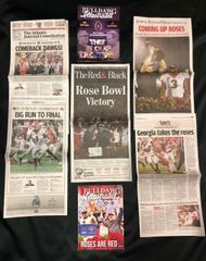 775e4b0c 2017 - 2018 UGA Georgia Bulldogs Commemorative AJC Special Edition  Newspapers, Athens Banner-Herald