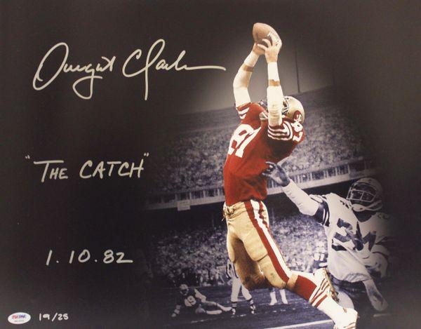 734492139 San Francisco 49ers Dwight Clark