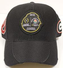 2ba6ba76 2018 Rose Bowl Georgia vs Oklahoma Black Hat - Adjustable