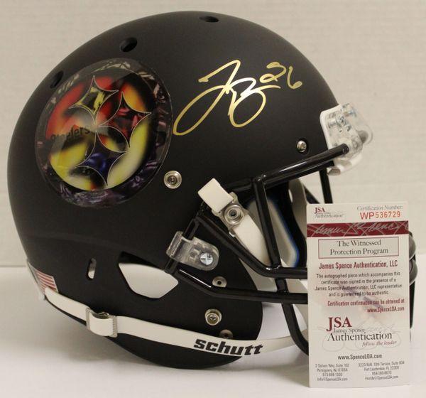 d8e1976de Le Veon Bell Signed Pittsburgh Steelers Football Schutt Customize ...