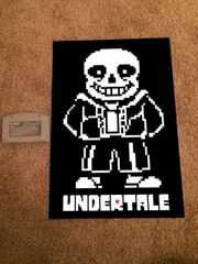 Undertale Poster (18x12 in)