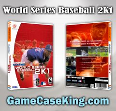 World Series Baseball 2K1 Sega Dreamcast Game Case