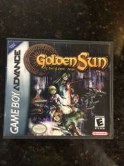 Golden Sun: The Lost Age GBA Game Case